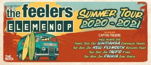 The Feelers & Elemeno P - Summer Tour 2021 photo