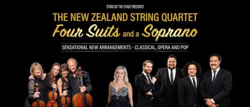 The NZ String Quartet, Four Suits & A Soprano photo
