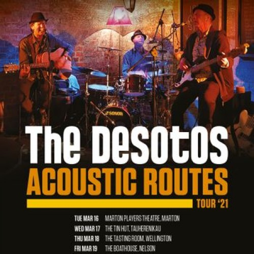 The DeSotos - Acoustic Routes Tour '21 photo